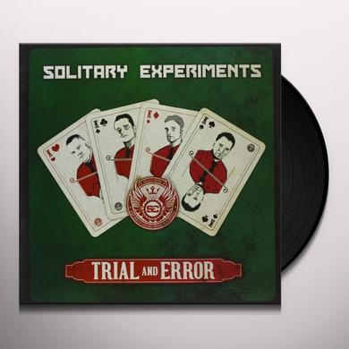 Solitary Experiments TRIAL & ERROR Vinyl Record