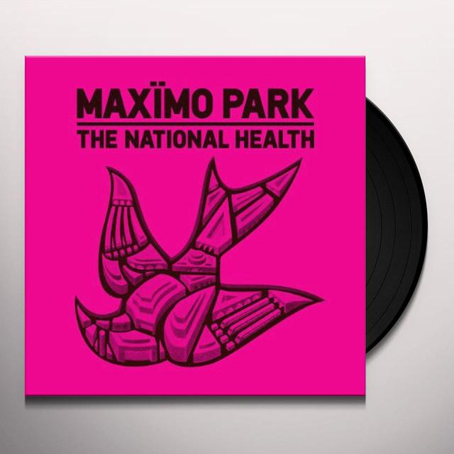 Maximo Park NATIONAL HEALTH Vinyl Record