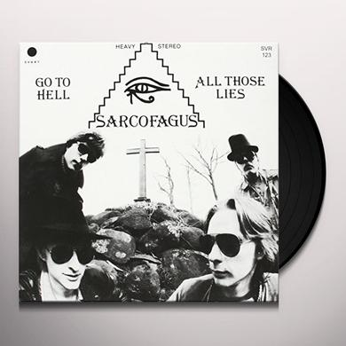 Sarcofagus GO TO HELL Vinyl Record - Portugal Import