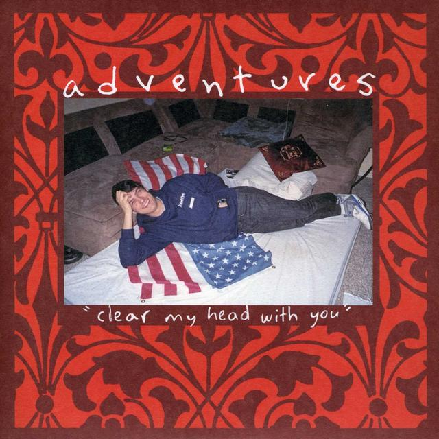 Adventures CLEAR MY HEAD WITH YOU Vinyl Record - UK Import