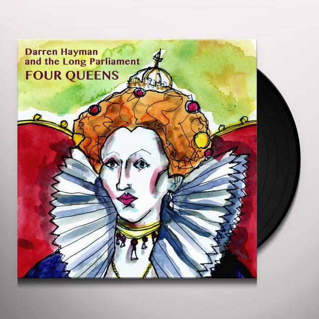Darren Hayman & The Long Parliament FOUR QUEENS Vinyl Record - UK Import