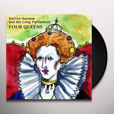 Darren Hayman & The Long Parliament FOUR QUEENS Vinyl Record
