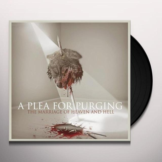 Plea For Purging MARRIAGE OF HEAVEN & HELL Vinyl Record - UK Import