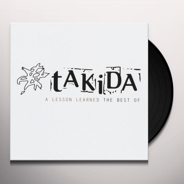 Takida LESSON LEARNED (THE BEST OF) Vinyl Record - Sweden Import