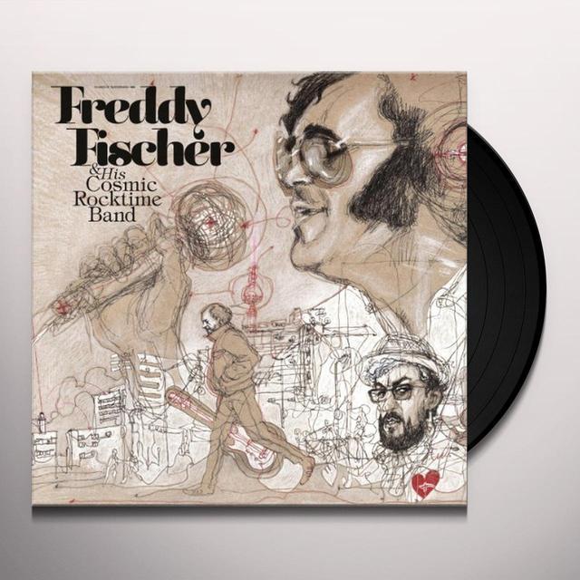 Freddy Fischer & Cosmic Rocktime Band DREIMAL UM DIE SONNE (GER) Vinyl Record