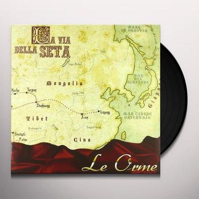 Orme LA VIA DELLA SETA Vinyl Record - Italy Import
