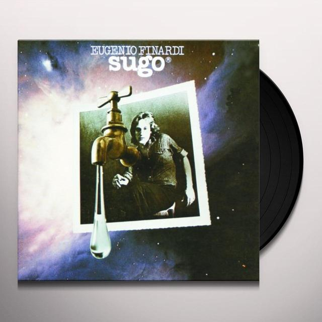 Eugenio Finardi SUGO Vinyl Record - Italy Import