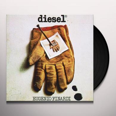 Eugenio Finardi DIESEL Vinyl Record - Italy Import