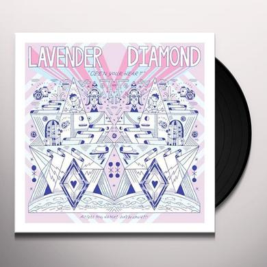 Lavender Diamond OPEN YOUR HEART Vinyl Record - UK Import