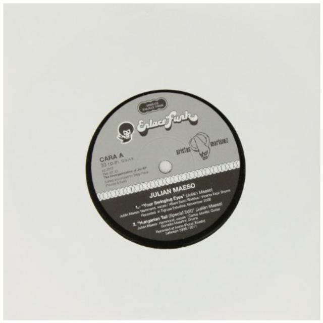 Julian Maeso UNORGANIZATION OF JM Vinyl Record