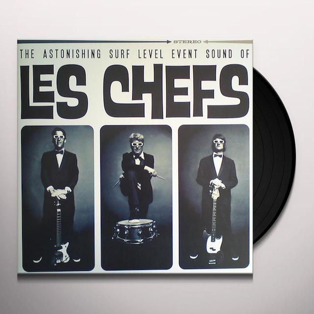 Les Chefs ASTONISHING SURF LEVEL SOUND OF Vinyl Record - Portugal Import