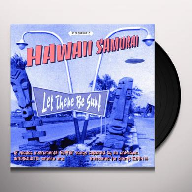 Hawaii Samurai LET THERE BE SURF Vinyl Record