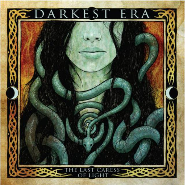 Darkest Era LAST CARESS OF THE LIGHT (DOUBLEMINT COLORED VINYL Vinyl Record