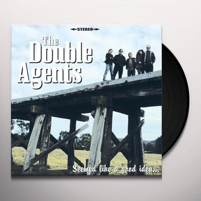 Double Agents SEEMED LIKE A GOOD IDEA Vinyl Record - Portugal Import