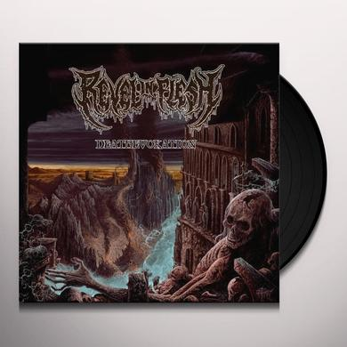 Revel In Flesh DEATHEVOKATION Vinyl Record