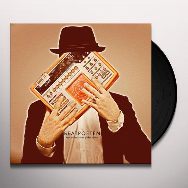 Beatpoeten MAN MUESSTE KLAVIERSPIELEN KOENNEN (GER) Vinyl Record