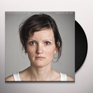 David Lipp & Die Li ES IST SO UNENDLICH STHIER Vinyl Record
