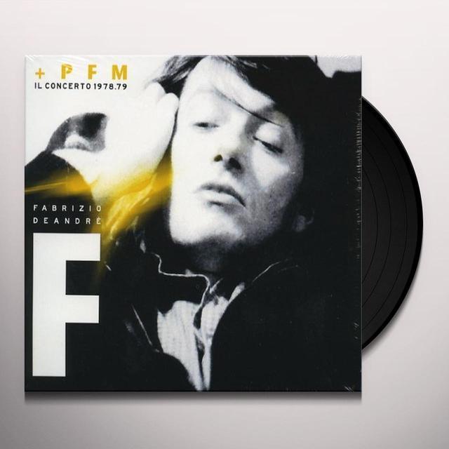 Fabrizio De André FABRIZIO DE ANDRE E PFM-IL CONCERTO197 (GER) (Vinyl)
