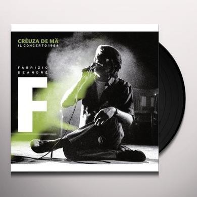 Fabrizio De André CREUZA DE MA-IL CONCERTO1984 (GER) Vinyl Record