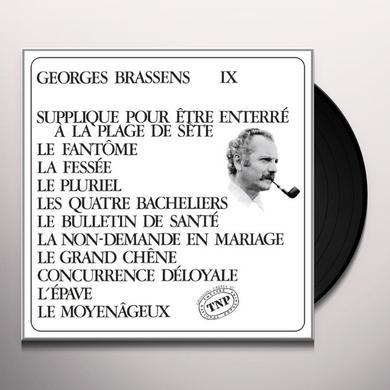 Georges Brassens VOL. 11-SUPPLIQUE POUR ETRE ENTERRE A LA PLAGE DE Vinyl Record