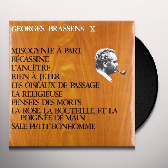 Georges Brassens VOL. 12-MISOGYNIE A PART (FRA) Vinyl Record