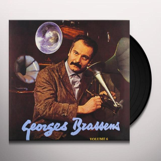 Georges Brassens VOL. 6-LE PORNOGRAPHE Vinyl Record