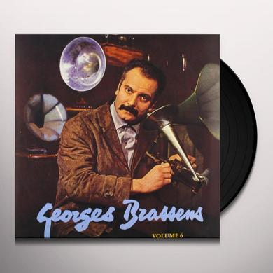 Georges Brassens VOL. 6-LE PORNOGRAPHE (FRA) Vinyl Record