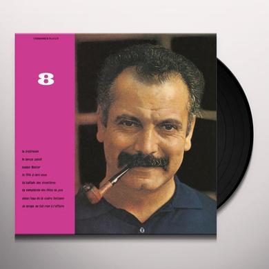 Georges Brassens VOL. 8-LE TEMPS NE FAIT RIEN A L'AFFAIRE Vinyl Record