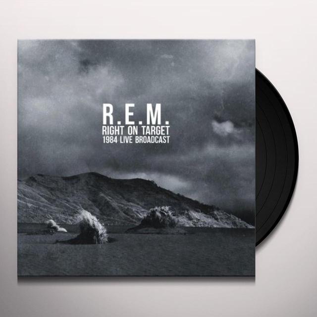 R.E.M. RIGHT ON TARGET (USA 1984) (UK) (Vinyl)