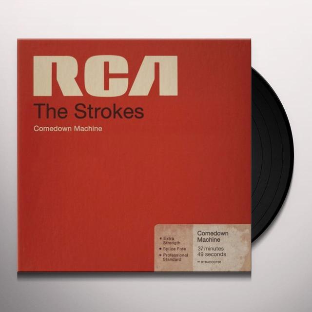 The Strokes COMEDOWN MACHINE Vinyl Record - UK Release