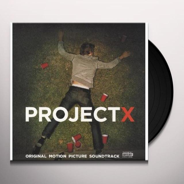 Various Artists (Uk) PROJECT X Vinyl Record