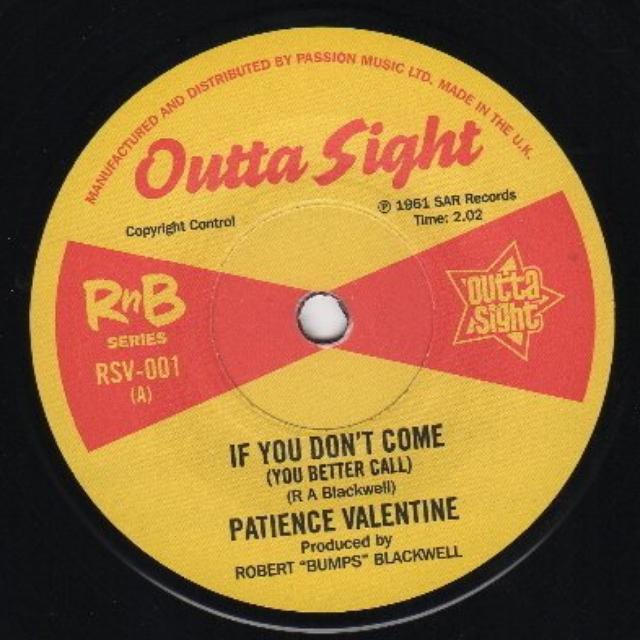 Patience Valentine/Barbara Dane