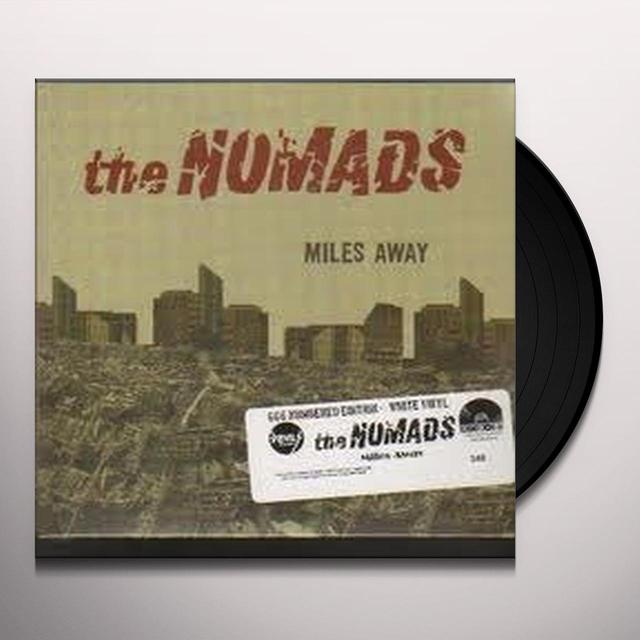 Nomads MILES AWAY Vinyl Record - Sweden Import