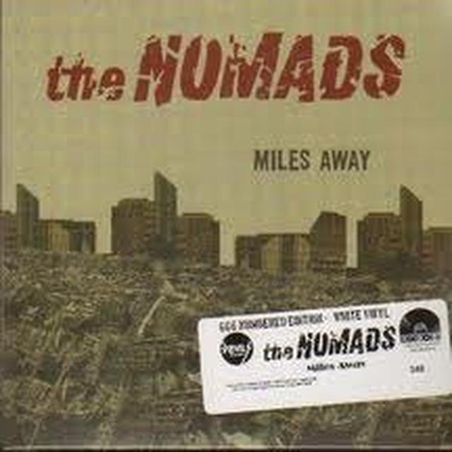 Nomads MILES AWAY Vinyl Record - Sweden Import