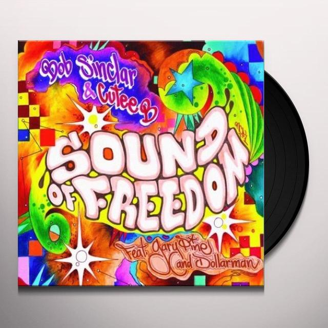 Bob Sinclar & Cutee B SOUND OF FREEDOM Vinyl Record - UK Import