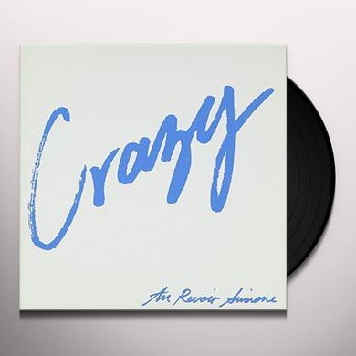 Au Revoir Simone CRAZY/SOMEBODY WHO Vinyl Record - UK Import