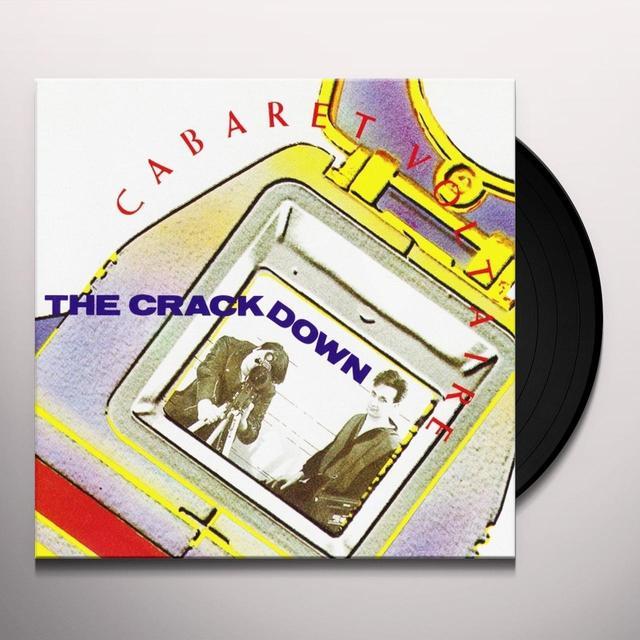 Cabaret Voltaire CRACKDOWN Vinyl Record - UK Import
