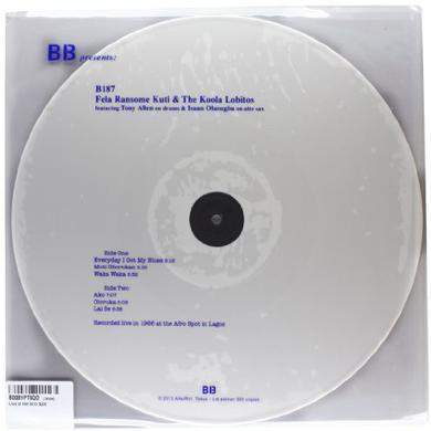 Ransome-Kuti Fela & The Koola Lobitos LIVE AT THE AFRO SPOT Vinyl Record