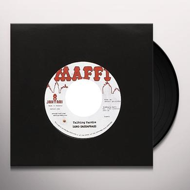 Junior Roy/Lord Sassafrass RUN DI SESSION/TALKING YARDIE Vinyl Record - UK Import