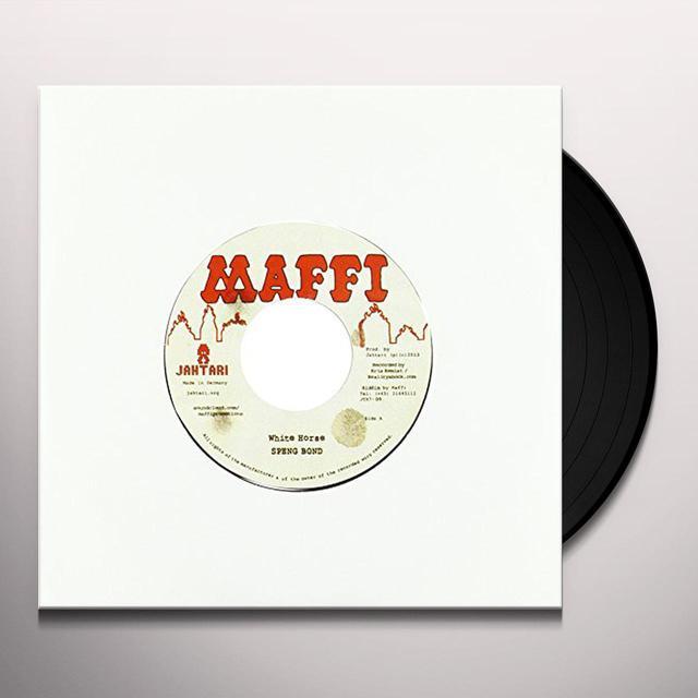 Speng Bond/Maffi WHITE HORSE/HEIDI RIDDIM Vinyl Record