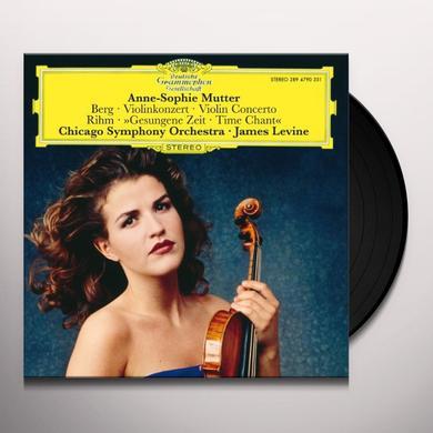 Anne-Sophie Mutter VIOLIN CONCERT/GESUNGENE (GER) Vinyl Record