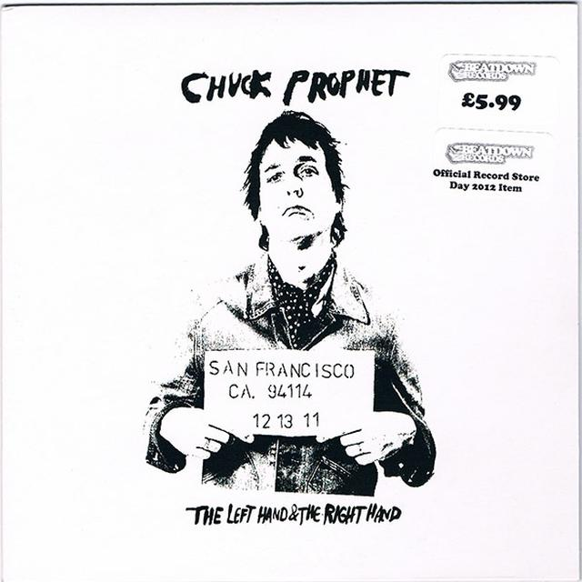 Chuck Prophet LEFT HAND & THE RIGHT HAND Vinyl Record - Holland Import