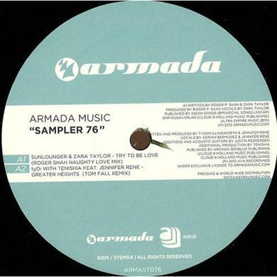 ARMADA MUSIC SAMPLER 76 Vinyl Record - Holland Release