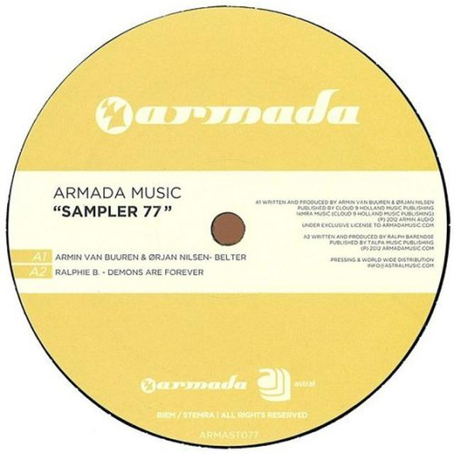 ARMADA MUSIC SAMPLER 77 Vinyl Record - Holland Release