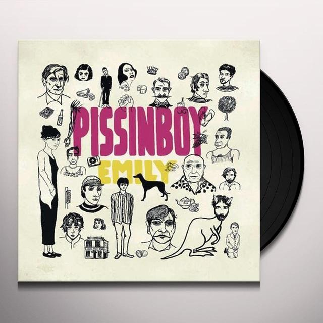Pissinboy EMILY Vinyl Record - Holland Import