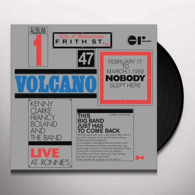 Kenny Francy Boland Big Band Clarke VOLCANO-LIVE AT RONNIE'S (ITA) (Vinyl)