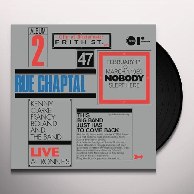 Kenny Francy Boland Big Band Clarke RUE CHAPTAL-LIVE AT RONNIE'S (ITA) (Vinyl)