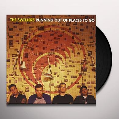 The Swellers RUNNING OUT OF PLACES TO GO Vinyl Record - 10 Inch Single, UK Release