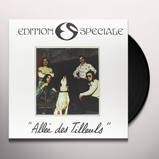 Edition Speciale ALLEE DES TILLEULS Vinyl Record