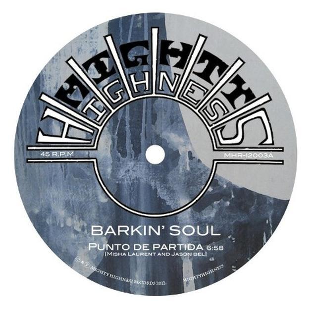 Barkin Soul PUNTO DE PARTIDA Vinyl Record